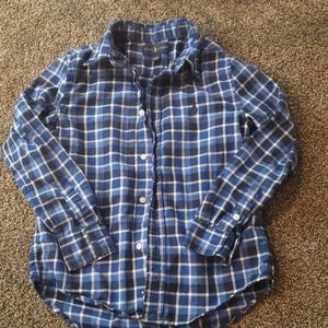 Boys size 7 Ralph Lauren button up shirt
